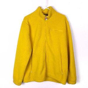 FILA • Yellow Teddy Oversized Jacket
